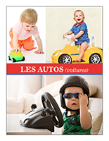 Affiche thematique poupons-Les autos-voitures