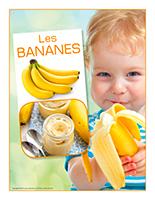 Affiche thématique-poupons-Les bananes