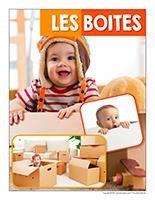 Affiche thematique poupons-Les boites
