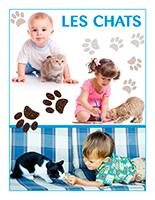 Affiche thématique poupons-Les chats
