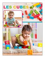 Affiche thématique poupons-Les cubes