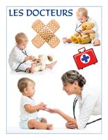 Affiche-thématique poupons-Les docteurs
