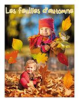 Affiche thématique poupons-Les feuilles d'automne