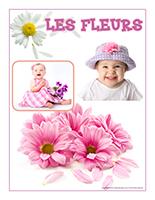 Affiche thematique-poupons-Les fleurs