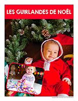 Affiche thematique poupons-Les guirlandes de Noel