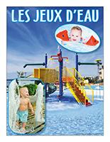 Affiche thématique poupons-Les jeux d'eau