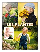 Affiche thématique poupons-Les plantes