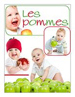 Affiche thématique poupons-Les pommes