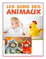 Affiche-thematique-poupons-Les sons des animaux
