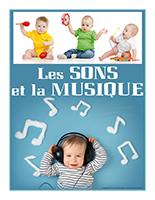 Affiche thematique-poupons-Les sons et la musique