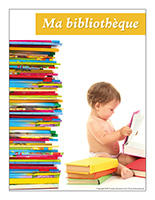Affiche thematique poupons-Ma bibliotheque