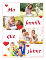 Affiche-thématique poupons-Ma famille que j'aime