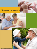 Affiche thématique poupons-Mes grand-parents