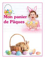 Affiche thématique poupons-Mon panier de Pâques-2016
