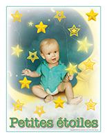 Affiche thematique poupons-Petite etoiles