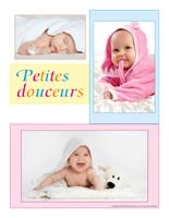 Affiche-thématique poupons-Petites douceurs