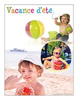 Affiche thématique poupons-Vacance d'été