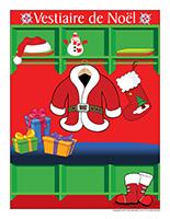 Affiche vestiaire-Noel