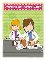 Affiche-vétérinaire-vétérinaire