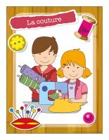 Ateliers créatifs-La couture