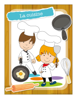 Ateliers créatifs-La cuisine