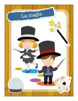 Ateliers créatifs-La magie