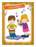 Ateliers créatifs-La musique