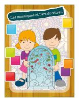 Ateliers créatifs-Les mosaïques et l'art du vitrail