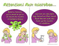 Attention les microbes - Hygiène corporelle