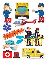 Autocollants-Ambulanciers-Ambulancières