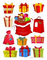 Autocollants-Cadeaux