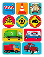 Autocollants-Camions