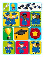 Autocollants-Graduation 2021