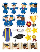 Autocollants-Graduation