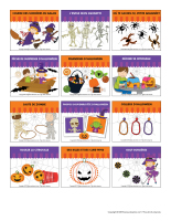 Autocollants-Halloween-La grande fête