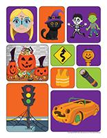 Autocollants-Halloween-La sécurité