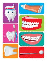 Autocollants-Le dentiste