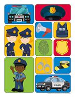 Autocollants-Policiers-Policières