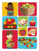 Autocollants-Pommes