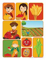 Autocollants-Récoltes