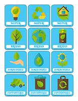 Autocollants pour récompenses-L'environnement
