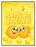 Avril en jaune