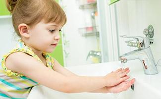 Bacs de mains propres