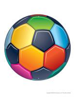 Ballons de soccer à enfiler