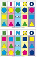 Bingo - Les formes