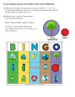 Bingo-Le Jour de la Terre