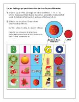 Bingo Noël 2012