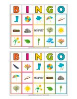 Bingo-Printemps