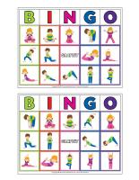 Bingo du yoga