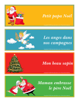 Boite à chansons de Noël 2014